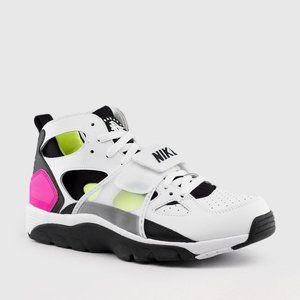 Nike Shoes - Nike Air Trainer Huarache White Black Laser